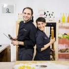 Erica Liverani e Lorenzo De Guio al Cinetix Cafè con degustazione gratuita del prosciutto di San Daniele | 2night Eventi Matera
