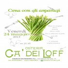 Cena Dell'asparago All'osteria Ca Dei Loff | 2night Eventi Treviso