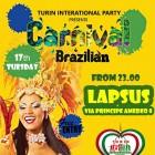 Mardi Gras, Brazilian Carnival al Lapsus | 2night Eventi Torino