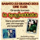 Grande Torneo La Spaghettata All'hostaria La Fenice | 2night Eventi Verona