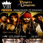 Pirati Dei Caraibi! Live Dance Anni '70/80/90 All'viii Talento | 2night Eventi Bari
