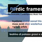 Nordic Frames @ Teatrino Palazzo Grassi | 2night Eventi Venezia