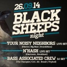 Black Sheeps Night allo Zsa Zsa Monamour | 2night Eventi Palermo