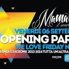 Love friday night, il venerdì del Mamamia   2night Eventi Verona