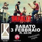 Sabato 3 febbraio si balla con gli SKARLAT al Krifò | 2night Eventi Lecce