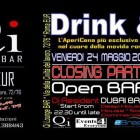Drink & Go Closing Party Al Qi Ristobar | 2night Eventi Roma