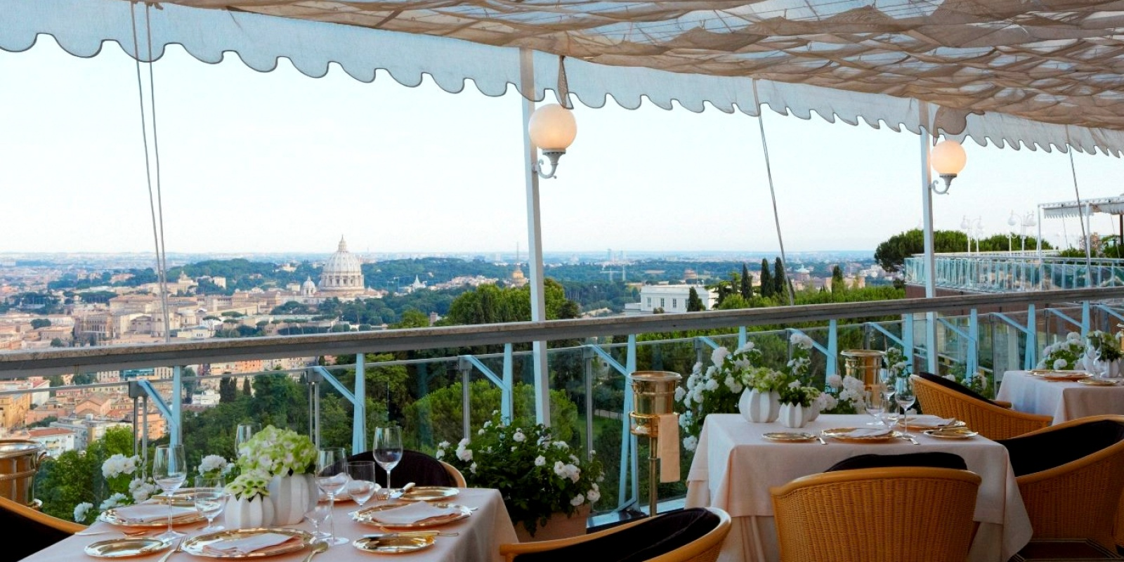 I ristoranti con terrazza più belli di Roma