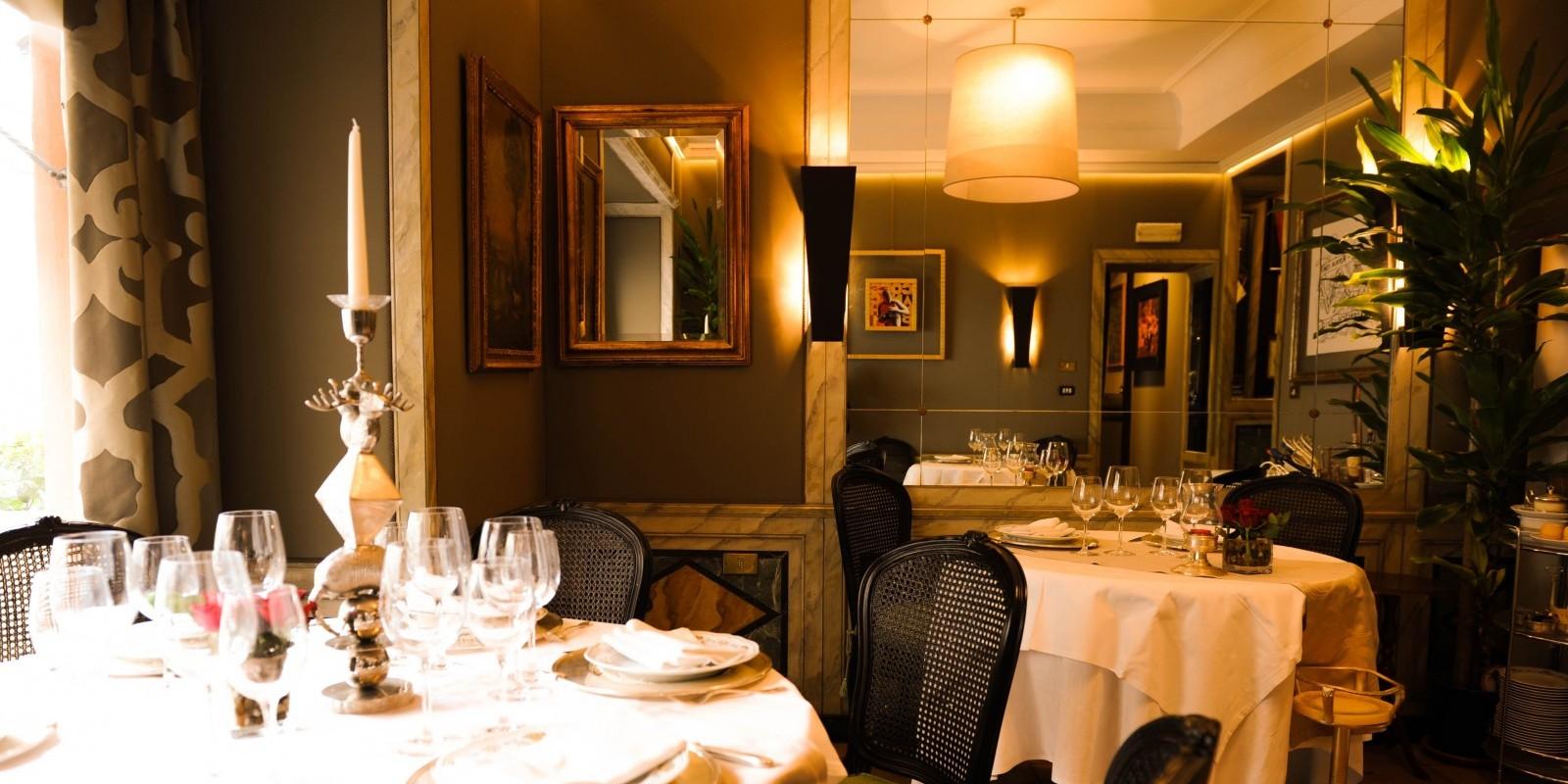 I ristoranti romantici di roma e non solo per san valentino for Ristoranti di design