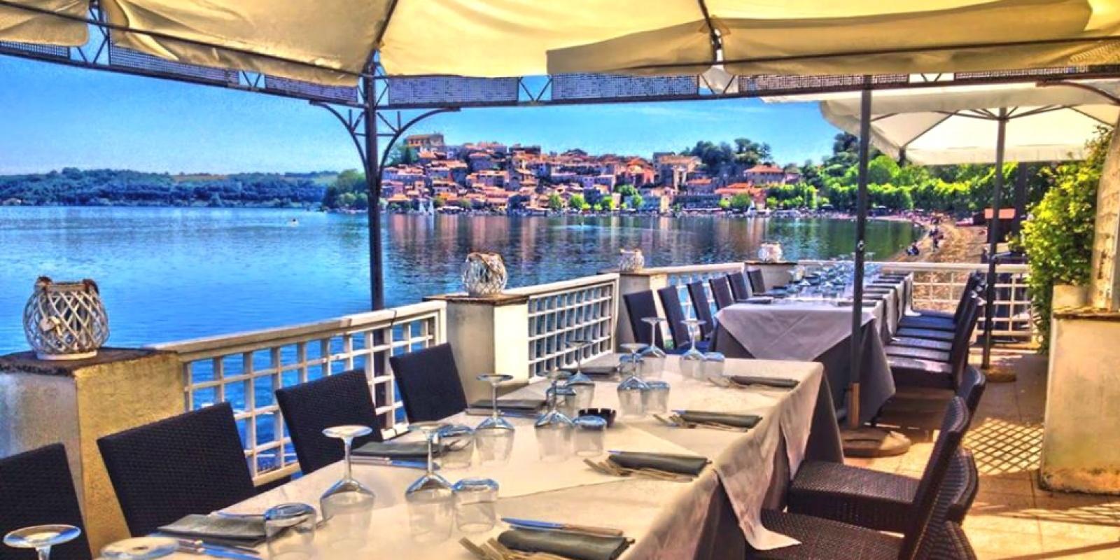 Vacanze quasi in città, i migliori ristoranti sul Lago di Bracciano