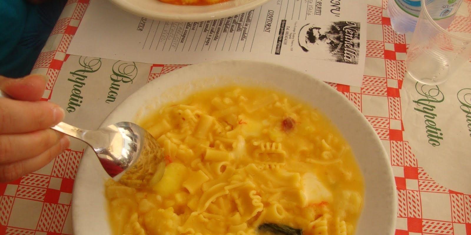 La pasta e patate con la provola che non hai ancora for Marchi di pasta da non mangiare