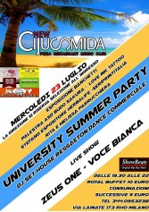 University Summer Party Al New Cijusmida Club | 2night Eventi Milano