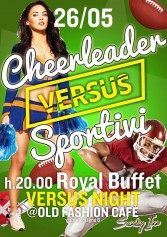 Cheerleaders Vs Sportivi All'old Fashion Cafè | 2night Eventi Milano