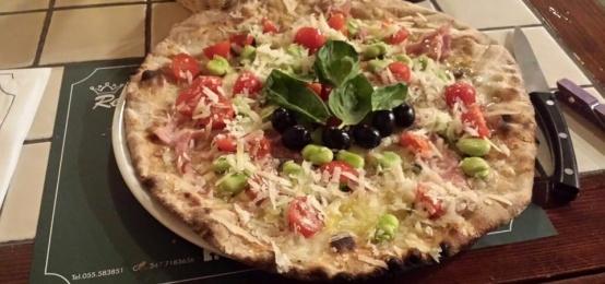 Giro Pizza all'Osteria del Re Matto