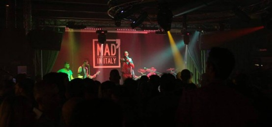 From Live to Disco al Mad' in Italy