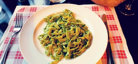 Pasta Pesto Day al Ristorante Vignal