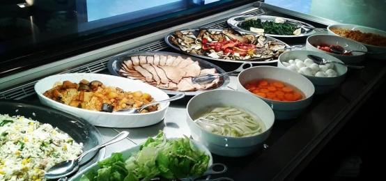 Il pranzo del Lucarelli Bistro