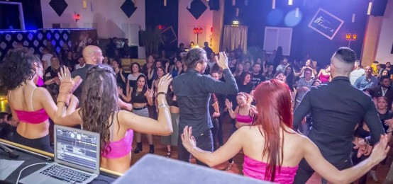 Serata caraibica al Fico's Latin Club