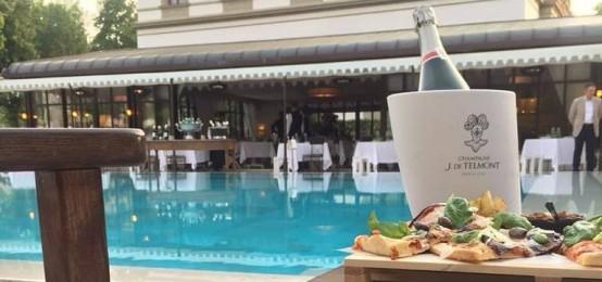 Pizza & Champagne a Villa Cora