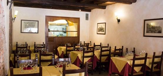 La cena di San Valentino all'Hostaria da Isidoro al Colosseo