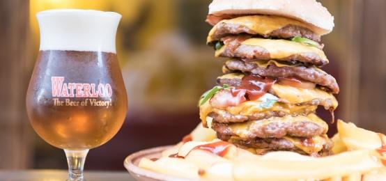 Tutti i Giovedì Hamburger Party alla Brasserie