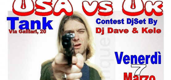 Usa Vs Uk Rock Contest @ Tank