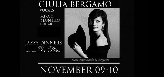 Jazzy Dinner con Giulia Bergamo
