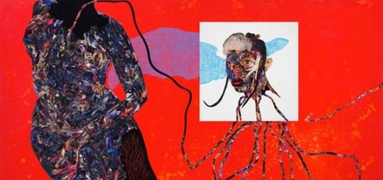 La presentazione della mostra Vitshois Mwilambwe Bondo Solo Show