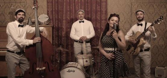 La musica live delle Orecchiette Swing al Trinciabue