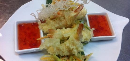 La tempura di Chef Nestor