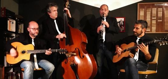 4 Quarti Gypsy Project live all'Enoteca Al Turacciolo