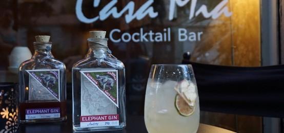 Al Casa Mia una cocktail list speciale dedicata ad un pregiato gin: ecco l'Elephant Gin Drink List