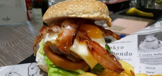 Domenica hamburger al Perlage di Sirmione