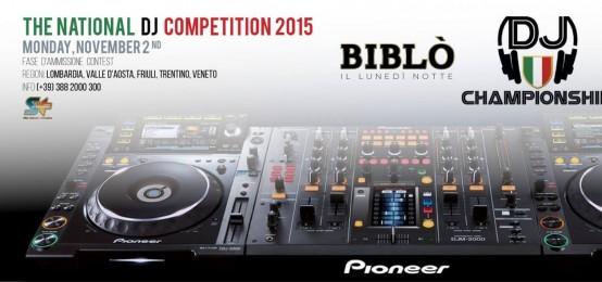Dj Championship 2015 al Biblò