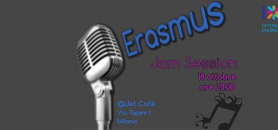 Erasmus jam session al jet caf 2night eventi milano for Via tajani milano