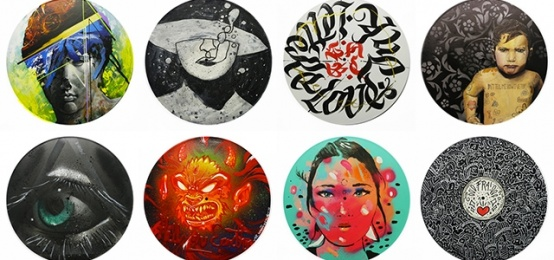 Vinyl Art Mania per il Vinyl Culture Market del RAL8022
