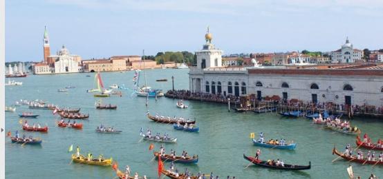 La Regata Storica di Venezia al Ristorante InAcqua