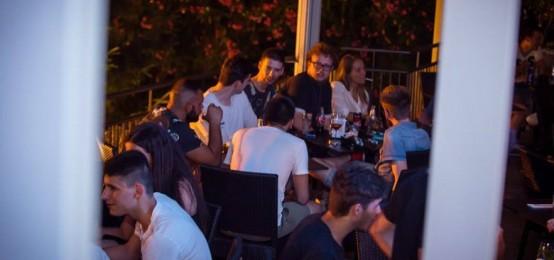 Outside: l'aperitivo in terrazza al Bar Padova