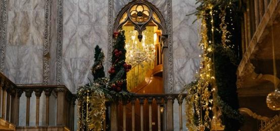 Vivere l'atmosfera magica della Vigilia di Natale alla Terrazza Danieli