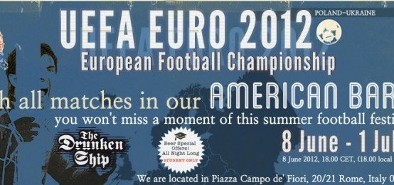 Tutte Le Partite Di Euro 2012 Al Drunken Ship
