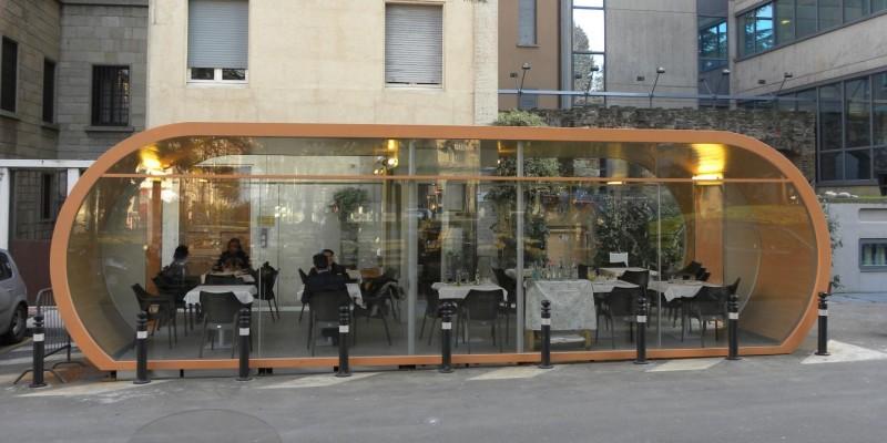 Dentro ma fuori, i migliori dehors di Bergamo