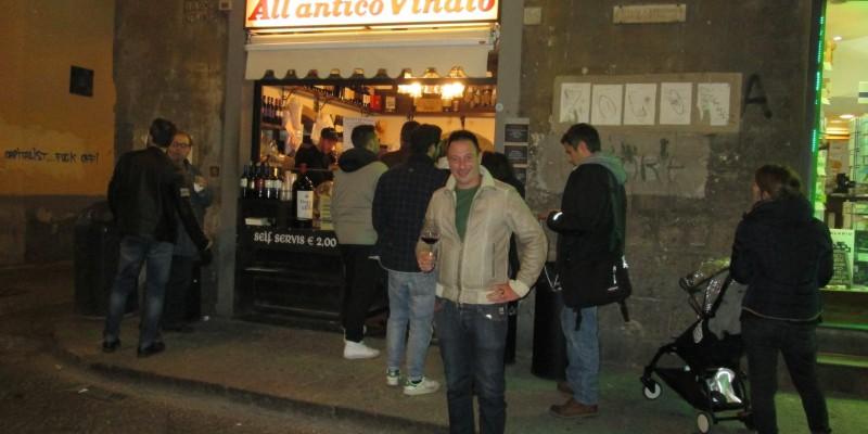 Il vinaino fiorentino ai tempi dei social: ce lo spiega Tommaso Mazzanti di All'Antico Vinaio