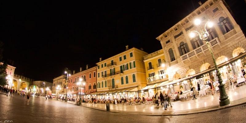 Una serata low cost a Verona