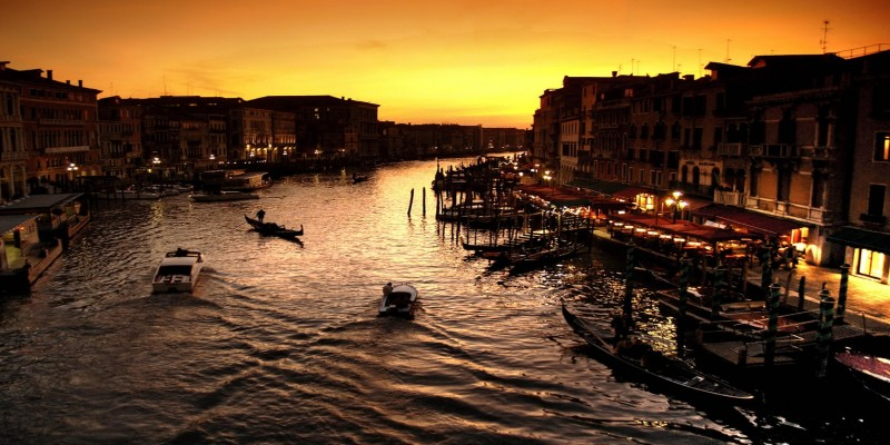 La classifica dei 6 punti di Venezia dove guardare il tramonto