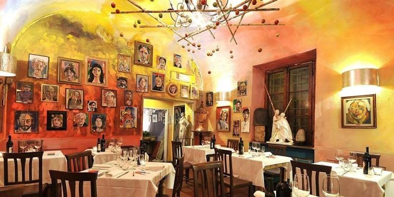 A cena come al museo: i ristoranti di Firenze dove mangi con la bocca e gli occhi
