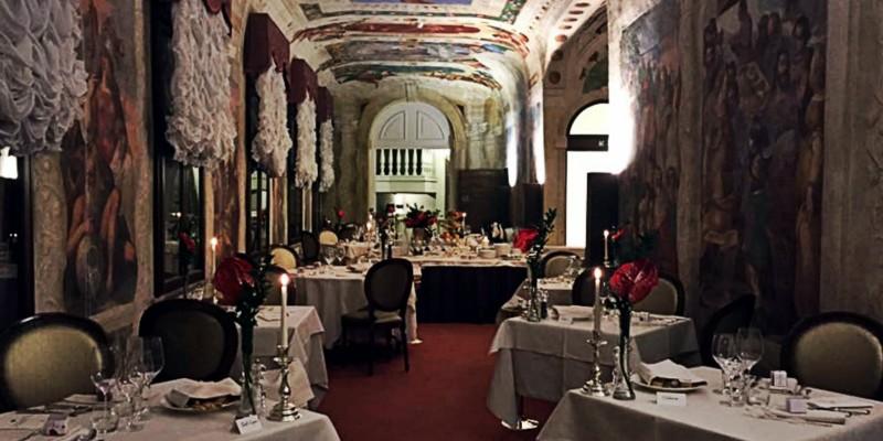 Ristorante Malipiero: come cenare all'interno di una vera opera d'arte