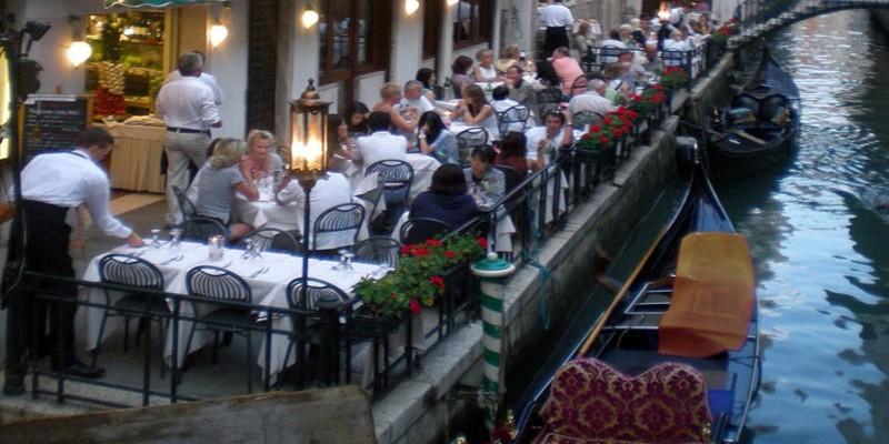 I 2 tavoli più esclusivi da prenotare a Venezia