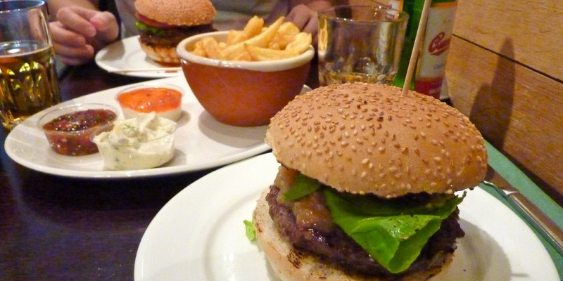 Dove mangiare un ottimo hamburger a Triggiano