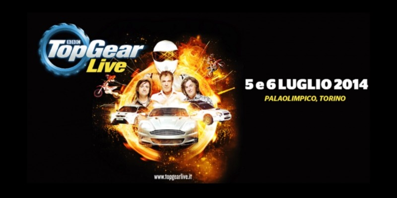 Top Gear Live in Italia al Palaolimpico di Torino GRATIS con 2night
