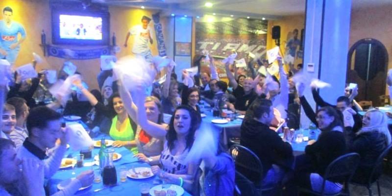 Calcio e pizza che passione! I locali dove vanno i veri tifosi del Napoli