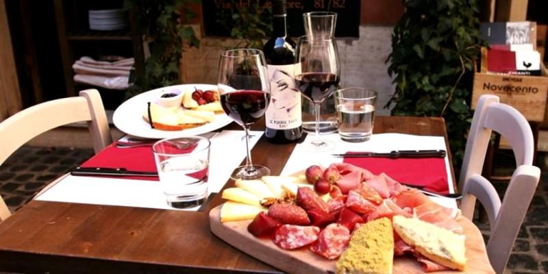 I 5 wine bar dove andare per un pranzo perfetto a Roma